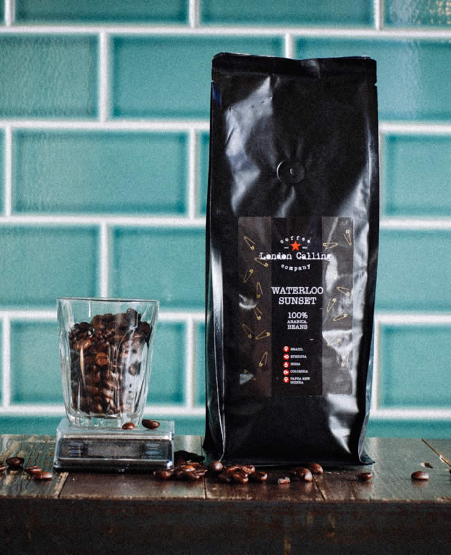 London Calling Coffee Packets Waterloo Sunset